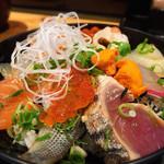 鮨一花 - ランチの海鮮丼1300円
