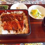 レストラン海洋 - 鰻重特上