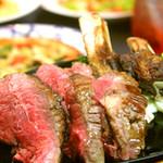 ウェルカムトゥザムーン - 牛リブステーキ付 4000円コース