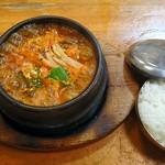 韓国食堂 - ユッケジャン ライス