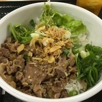 カラーズ - Apr, 2015 豚肉のレモングラス丼580円