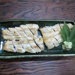 鰻料理 うな富 - 白焼き。3000円