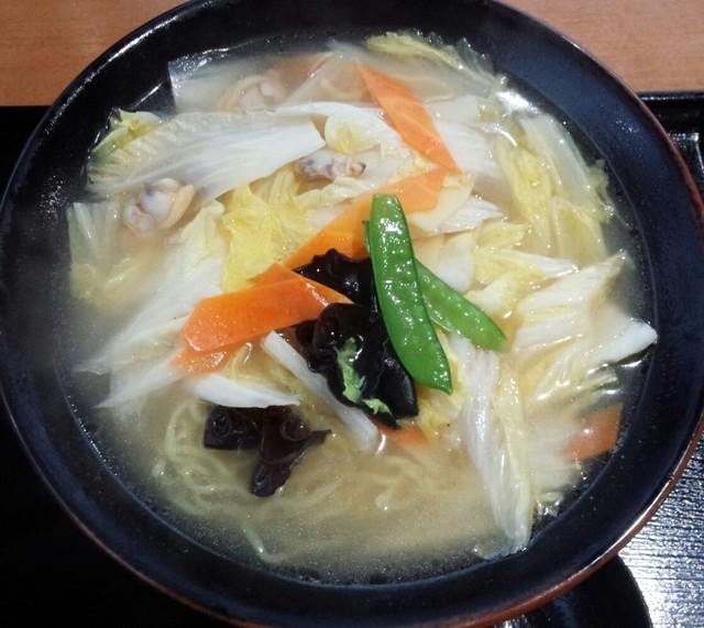 幸来 - 白菜ラーメン大盛800円/平成27年7月