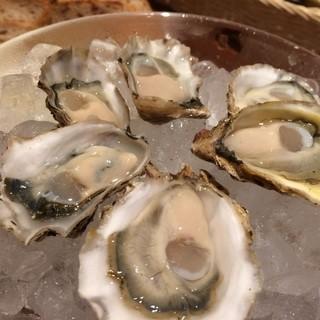 生産者の顔が見える牡蠣達