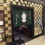 京甘味 文の助茶屋   - 入口