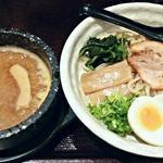 眞 - 【眞心つけ麺(並) + 味玉】¥830 + ¥100