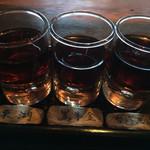 Kuronekoyoru - 紹興酒3種飲み比べ