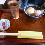 瑠璃亭 - 料理写真:ぜんざい