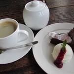 コリシモ - 料理写真:ガトーショコラ&森彦コーヒー