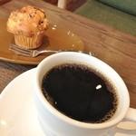 39974237 - コーヒー(エルサドバドル サンタエレナⅡ)と日向夏のマフィン