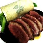 Ristorante Cornetto - 鴨肉のロースト12年熟成バルサミコソース