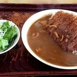 キッチン南海 - ロースカツカレー580円