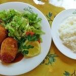 オリーブ - つくば鶏のコロッケセット