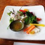 旬菜千味 さぎ草 - 瑞々しく甘い野菜