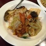 39979813 - 150520選べる麺と丼セット780円回鍋丼