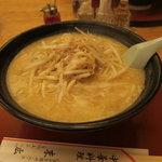 中華料理 末広 - 味噌ラーメン750円
