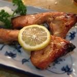 とんかつ 安右衛門 - 鮭の味噌漬け焼き