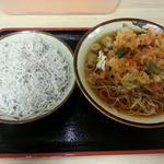 そばよし - カレー丼セット