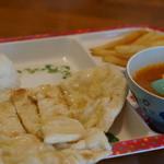 インドカレー料理ナマステグル - お子様セット595円『2015.7月再訪』