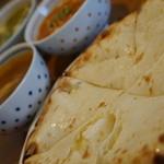 インドカレー料理ナマステグル - ナマステグルセット チーズナンに変更『2015.7月再訪』