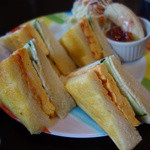 39981575 - 焼き玉子トーストサンド