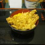小諸そば - 「穴子天丼」です。