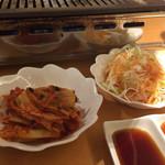 39983304 - キムチ&ねぎサラダ