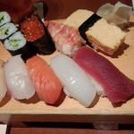 膳菜や - お寿司盛合せ 花