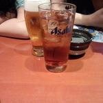 膳菜や - ビール&ウーロンハイ