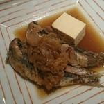 料理屋 仲島 - 鰯の生姜煮