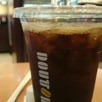 DOUTOR COFFEE - アイスコーヒー(S➡M)  ¥220