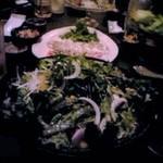 天空の雫 - サラダ、イカ、サーモン