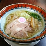 石臼玄麦自家製らーめん 丸竈 - 料理写真:鶏ダシ魚介系ラーメン