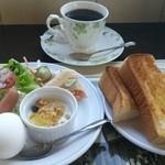 手賀カフェ - 料理写真:モーニングセット(500円)