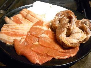 美味焼肉 いただき 阪急高槻店 - 選べる焼肉ランチW ¥1380(税別)☆♪