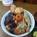 お食事処 幹 - ライダー丼