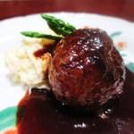 加藤牛肉店 - ハンバーグ