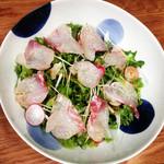 バラモン食堂 - 鮮魚サラダ
