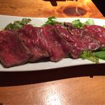 鮨割烹 廉 - 静岡牛のたたき