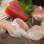 居酒屋 和楽 - 新鮮な魚です