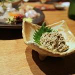 39999332 - ズワイガニの蟹味噌和え(2015.Jun)