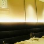 イタリア料理 アルファロ - お店の内装