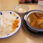 松屋 - 松屋 スープカレー