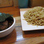 喜平 - 特製つけ麺、全貌