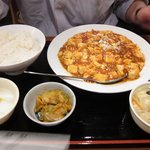 佳佳 - 麻婆豆腐セット
