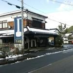 Sobafuji - そば藤の外観です。