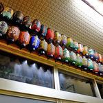 多良福 - 小型提灯がギッシリ飾られています(2015年7月)
