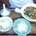 アジアンキッチン サワディー - 本日のランチセット