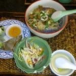 アジアンキッチン サワディー - 鶏そばセット