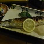 小料理野本 - 秋刀魚 焼きが料理人